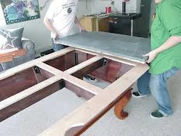 Pool table moves in Lafayette Indiana